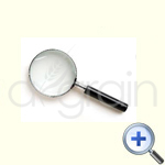Magnifying Glass With Stainless Steel Handle